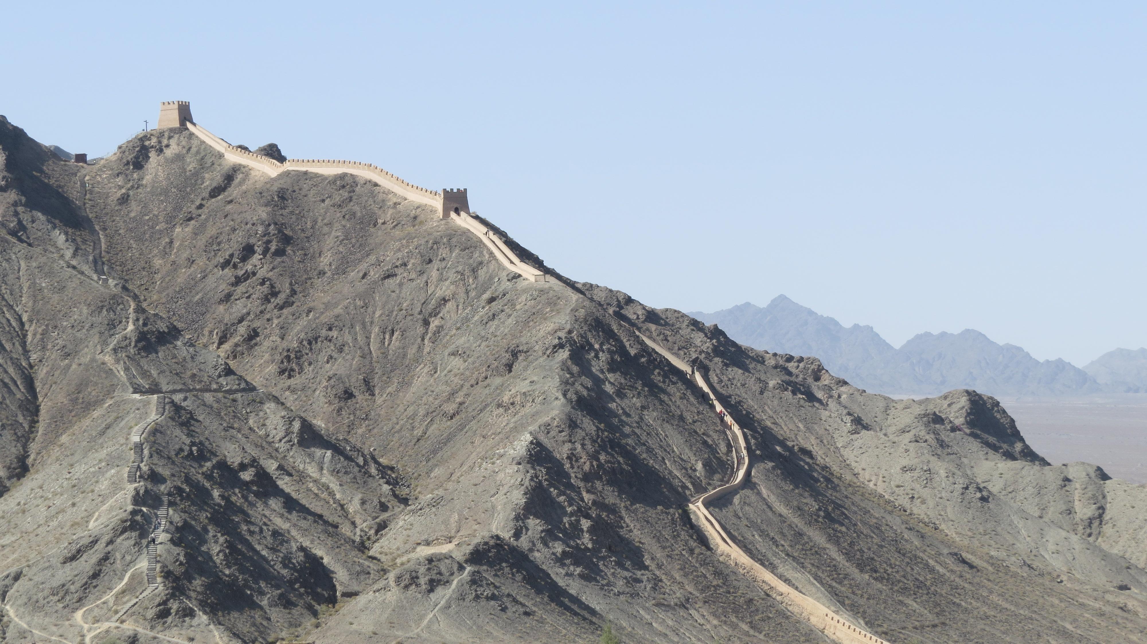 La Gran Muralla alternativa en China: Jiayuguan