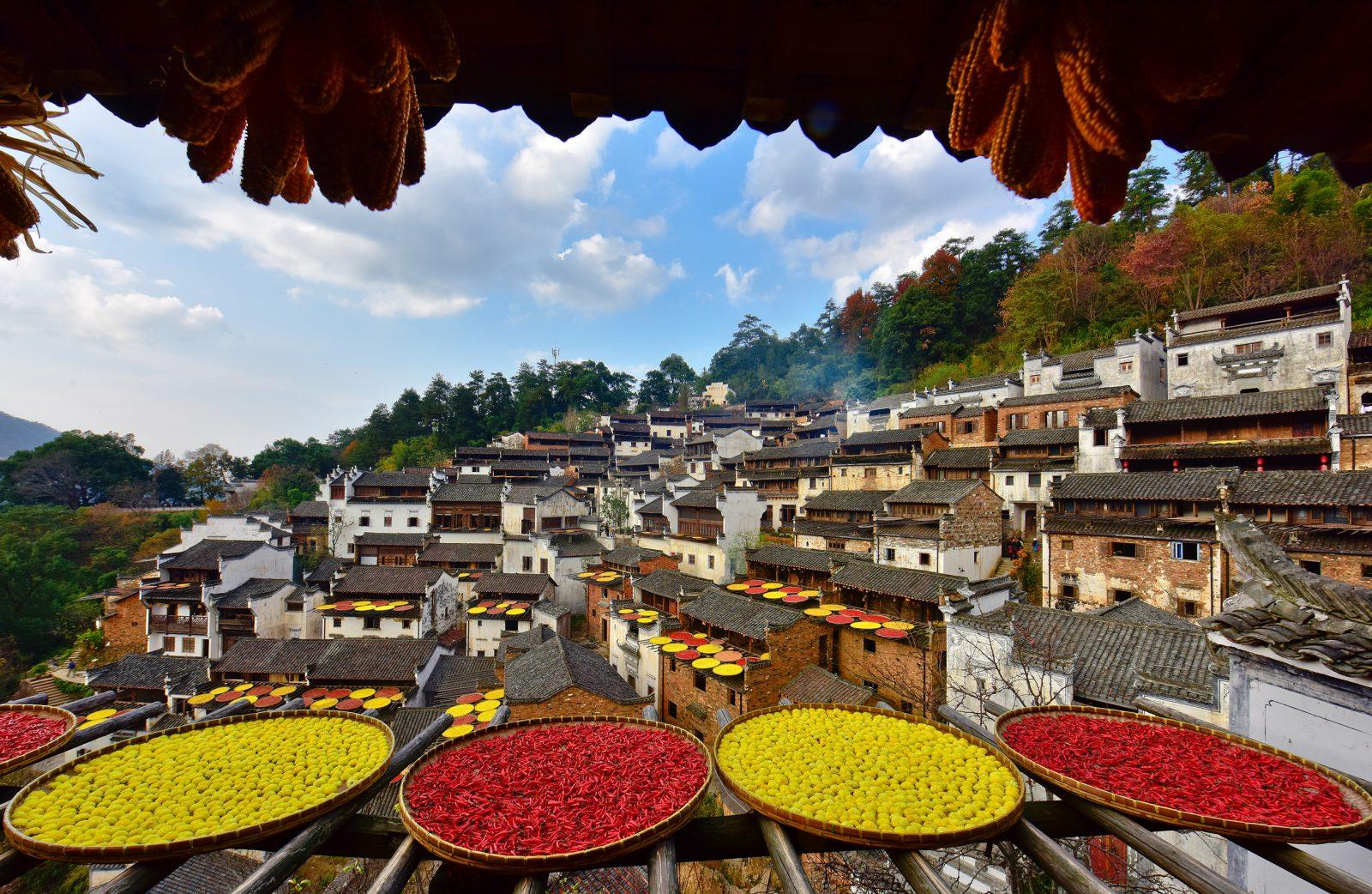 huangling china rural