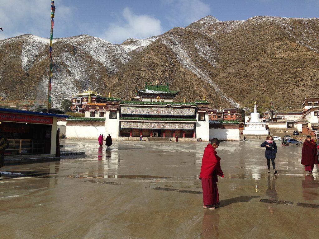 El monasterio budista de Labrang, uno de los más grandes del planeta.