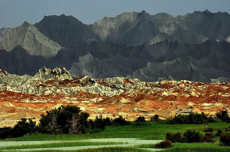 Las 'Montañas Marcianas' en el Baluchistan Iraní no parecen de este planeta