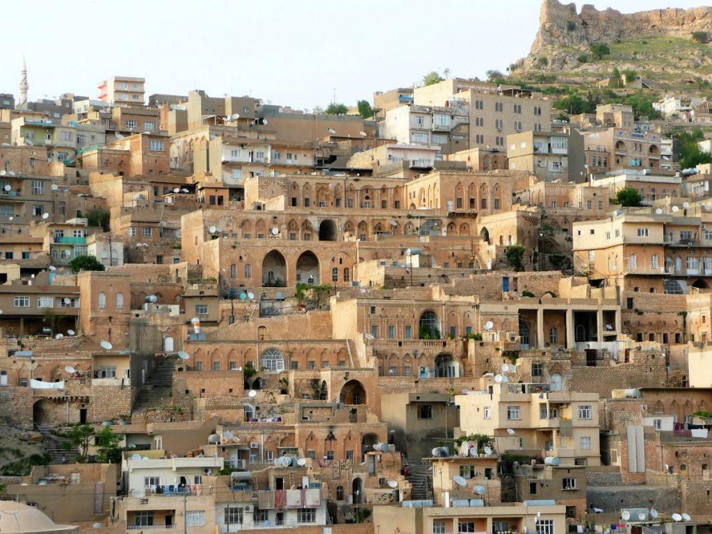 El casco antiguo de la ciudad de Mardin, al paso de las caravanas que venían de Siria e Iraq