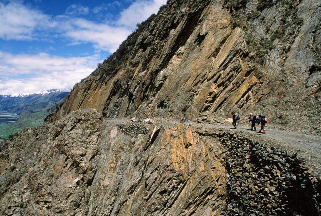 Tramo de la Tea Horse Road, entre Yunnan y Lhasa, una variación de la Ruta de la Seda por donde se comerciaban té y caballos.