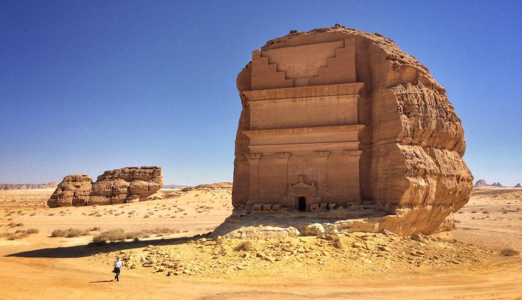 La ciudad Nabatea de Madain Saleh, en Arabia Saudita, en plena Ruta del Incienso